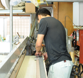 About the Factory, the Hashimoto Tatami Mat Shop.